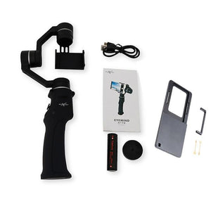 Mobile 3-Axis Handheld Smartphone Gimbal Stabilizer EvoFine With Gopro Plate