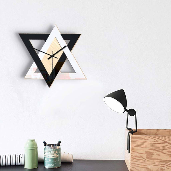 Modern Silent Wall Clock for Bedroom & Living Room