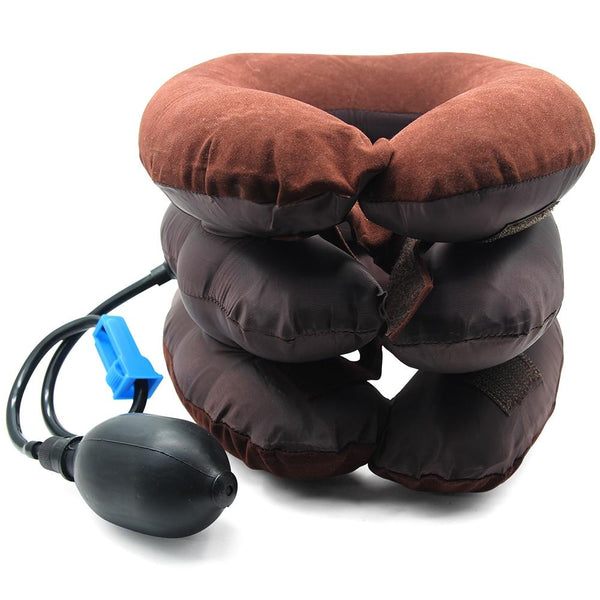 Neck Pillow Travel Neck Pillows Inflatable, Compact Portable Head and Neck Support Pillows
