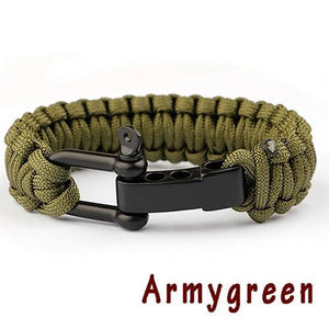 New Braided Bracelet Evofine Armygreen