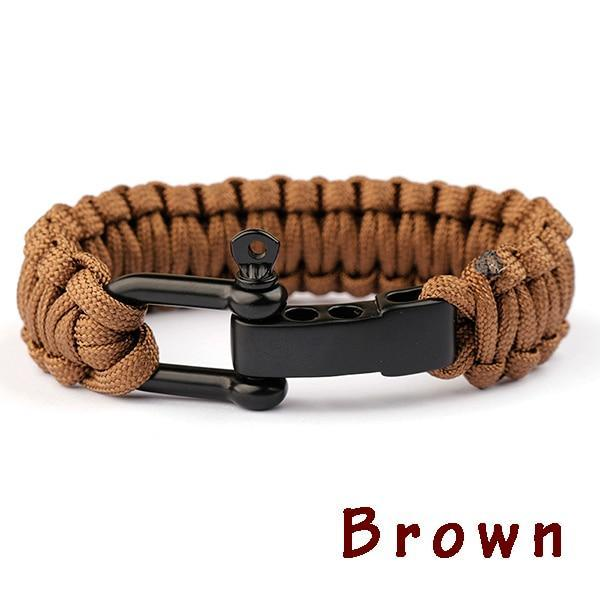 New Braided Bracelet Evofine Brown