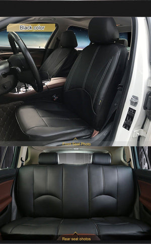 New Luxury PU Leather Auto Universal Car Seat Covers Evofine