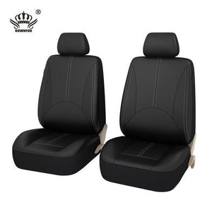 New Luxury PU Leather Auto Universal Car Seat Covers Evofine 2 front seat cover