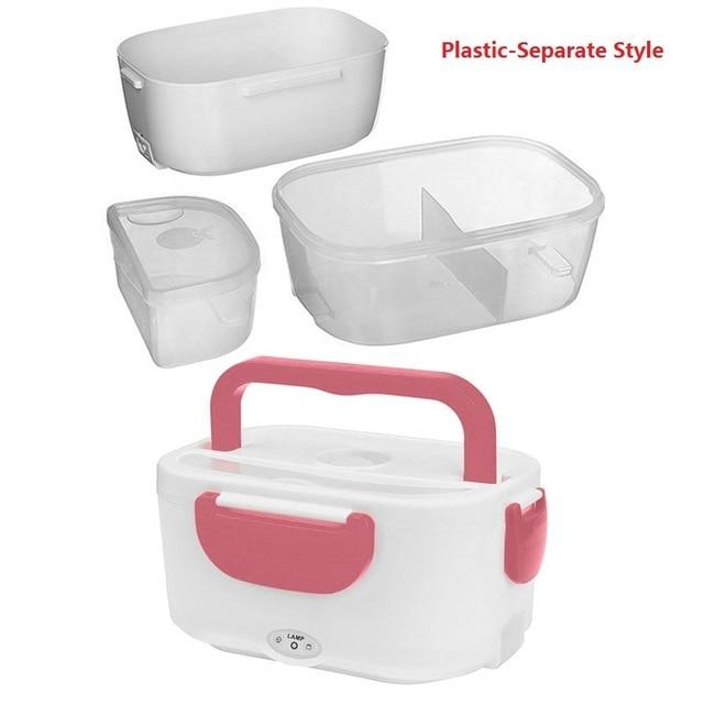 Portable Electric Heating Lunch Box Food Storage Box Electric Lunch Box EvoFine