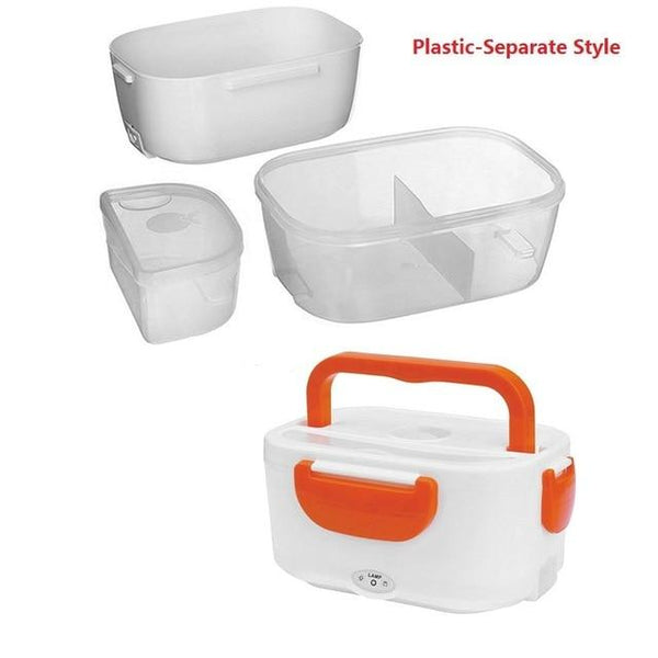 Portable Electric Heating Lunch Box Food Storage Box