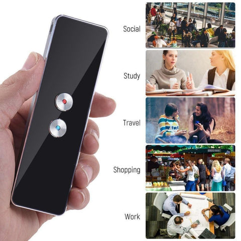 Portable Smart Translator - Real Time 2 way Instant Translator EvoFine