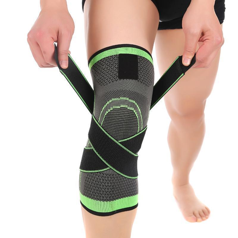 "Premium 3d knee compression pad Evofine Green S (12""-14"")"