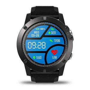 Pro Fitness Sports Smartwatch V4 - IOS & Android EvoFine Black