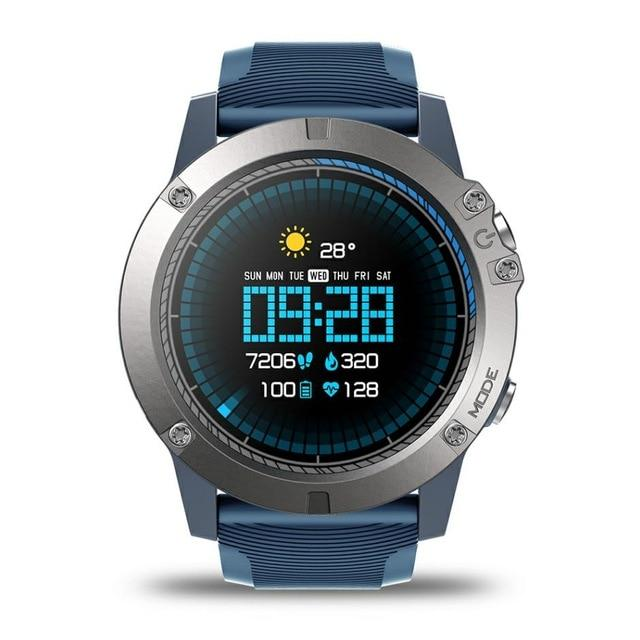 Pro Fitness Sports Smartwatch V4 - IOS & Android EvoFine Blue