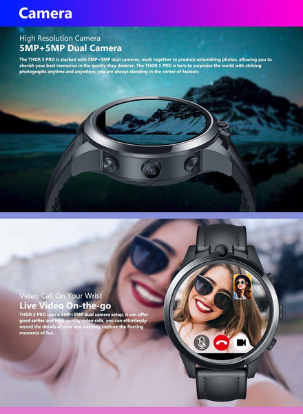 PRO Matrix Dual Camera Smartwatch
