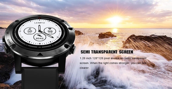 PRO Rugged Smartwatch GPS Heart Rate Monitor Smart watch