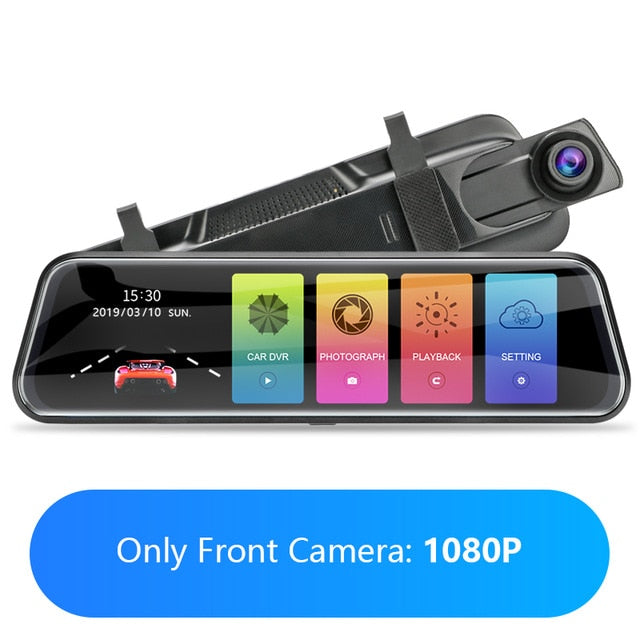 Touch Screen 1080P Car DVR
