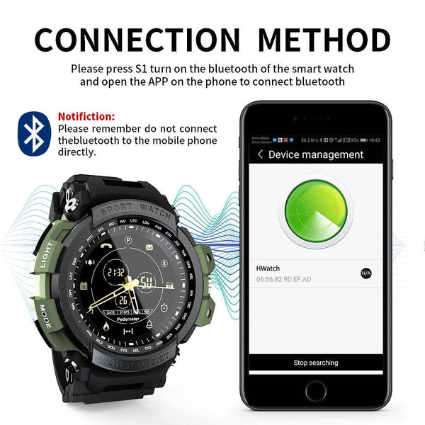 Professional Waterproof Bluetooth Smartwatch for Android And Ios