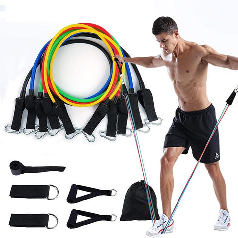 Resistance Band Set 11-piece Resistance Bands EvoFine