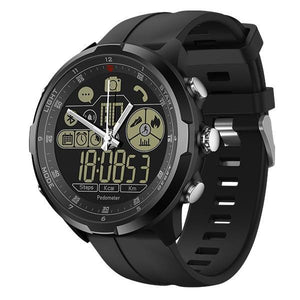 Rugged Smartwatch V4- Compatible with iOS & Android EvoFine Black