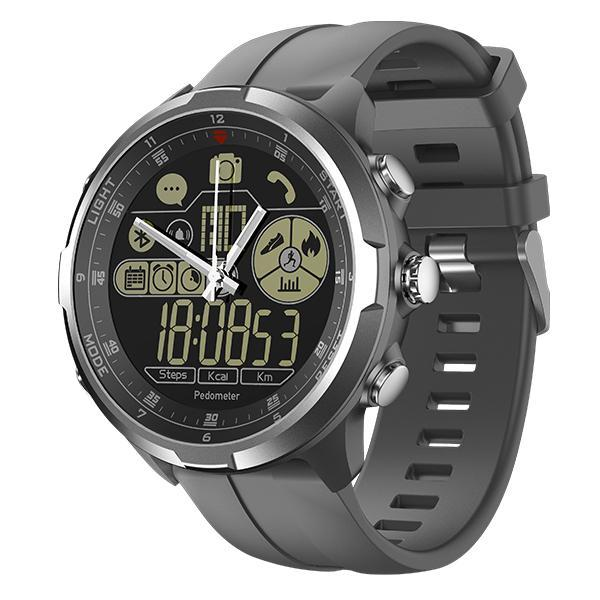 Rugged Smartwatch V4- Compatible with iOS & Android EvoFine Gray