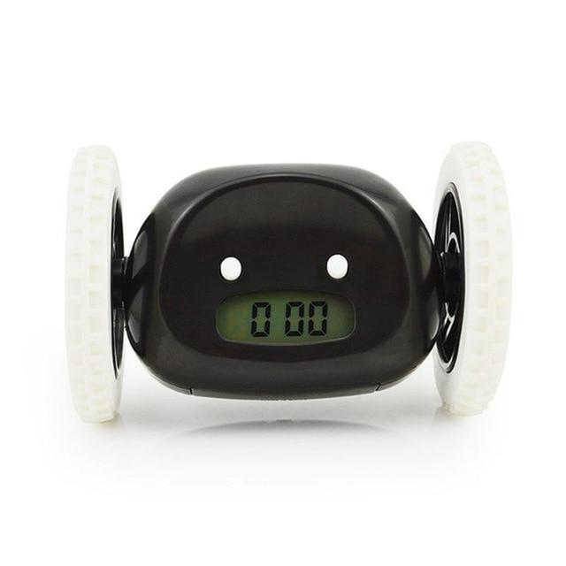 Runaway Digital Alarm Clock Evofine Black