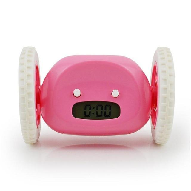 Runaway Digital Alarm Clock Evofine Pink