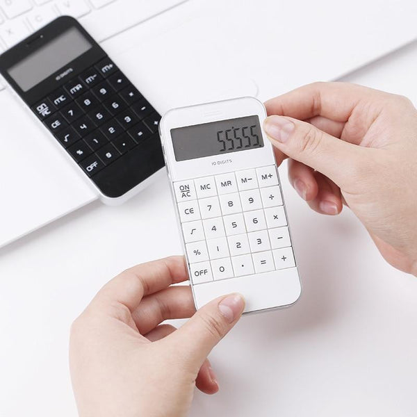 Smart Phone Style Arithmetic Calculator