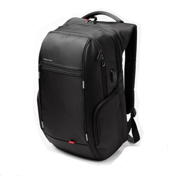 Smart USB Charging Anti-Theft Laptop Backpack Evofine Black 13 Inches