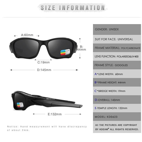 Sports Polarized Sunglasses For Men and Women