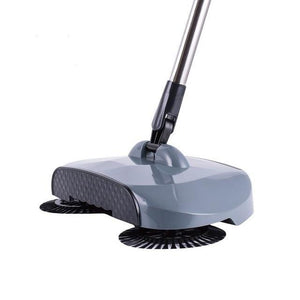 Stainless Sweeping Machine Evofine Light Grey