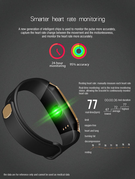 Stylish Sport Fitness Smartwatch For Android IOS