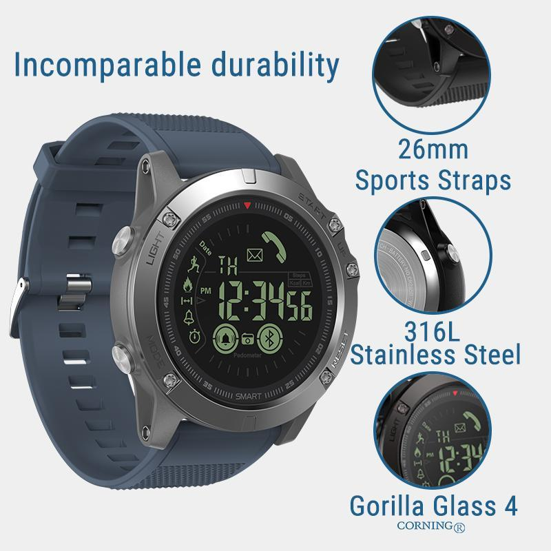 TACTICAL Smartwatch V4 - iOS/ANDROID Evofine