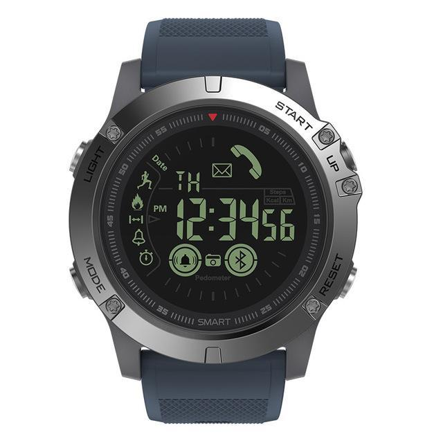 TACTICAL Smartwatch V4 - iOS/ANDROID Evofine Blue
