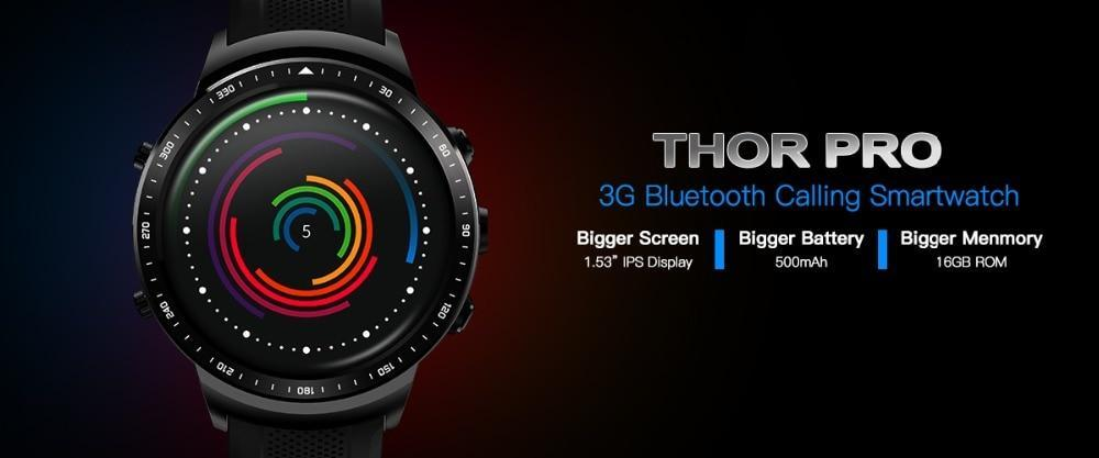 Thor PRO Android Smartwatch With GPS 1.53inch Evofine