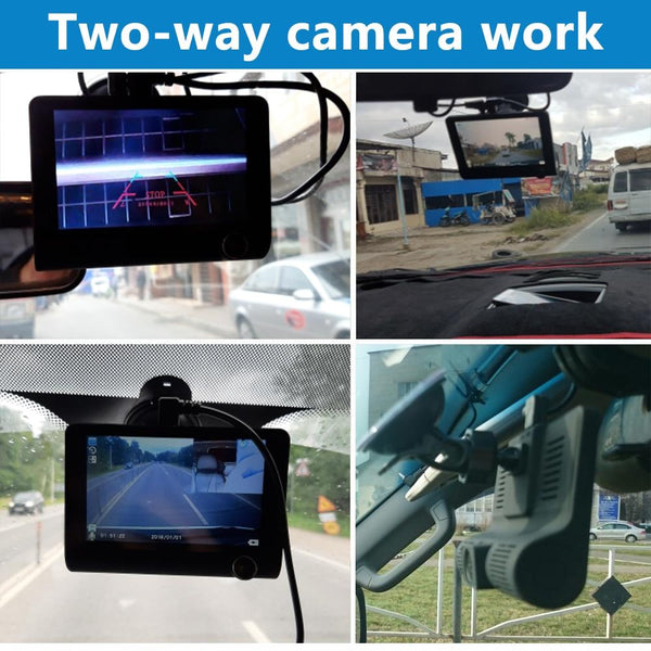 Three Way Car DVR