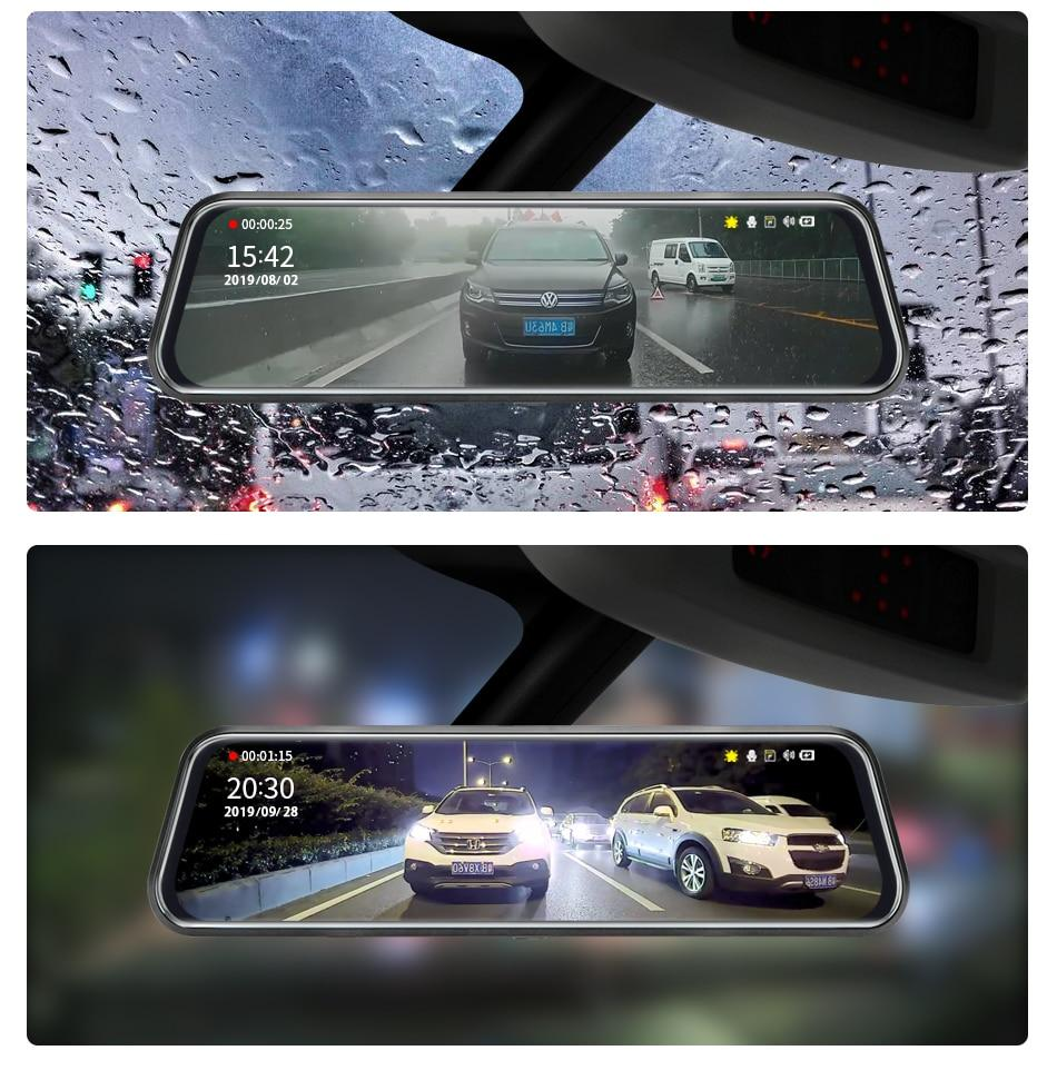 Touch Screen 1080P Car DVR Car Electronics EvoFine