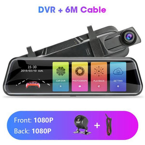 Touch Screen 1080P Car DVR Car Electronics EvoFine T29S 6m 128G Card