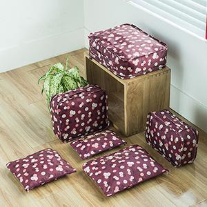 Travel™ Packing Cube System - Luggage Organizer Evofine Red flowers