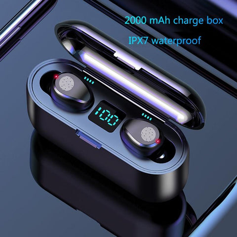 True Touch Control Wireless Earbuds Earphone EvoFine