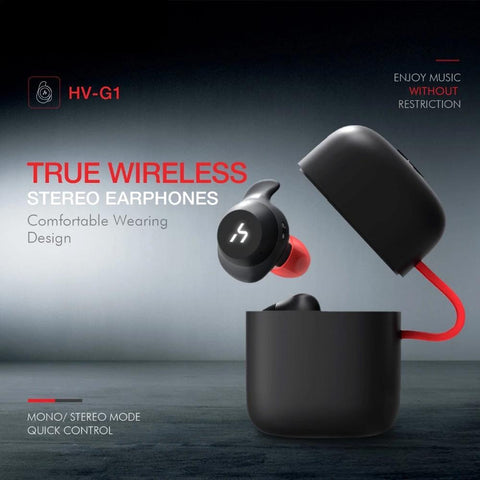 True Wireless Bluetooth Waterproof Handsfree Earphone Earphone EvoFine