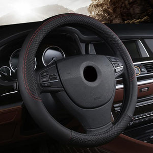 Universal Car Steering Wheel Cover evofine Black