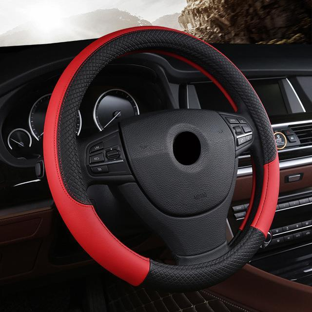Universal Car Steering Wheel Cover evofine Red