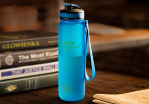 Universal Water Bottle - Stay Hydrated Evofine 1000ML Blue