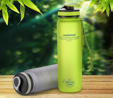 Universal Water Bottle - Stay Hydrated Evofine 1000ML Green