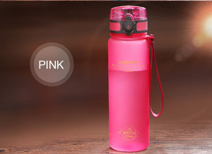 Universal Water Bottle - Stay Hydrated Evofine 650ML Pink