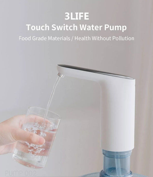 Water Bottle Pump, USB Charging Automatic Drinking Water Pump