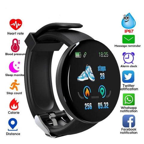 Waterproof Bluetooth Smart Watch For Android Ios Smartwatch EvoFine