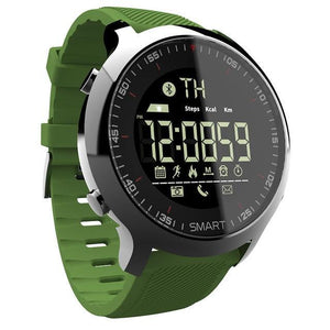 Waterproof Sports Smartwatch - Compatible with iOS & Android EvoFine Green