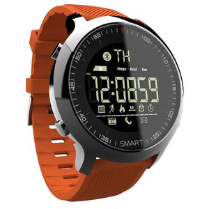 Waterproof Sports Smartwatch - Compatible with iOS & Android EvoFine Orange