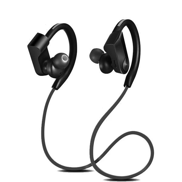 Wireless Bluetooth Sport Running Wireless Stereo Earphone Earphone EvoFine Black