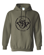 Load image into Gallery viewer, SDW Devil Hoodie - Black Print