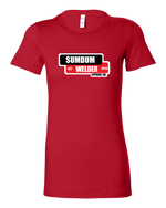 Load image into Gallery viewer, SumDumWelder Apparel - Ladies Tee