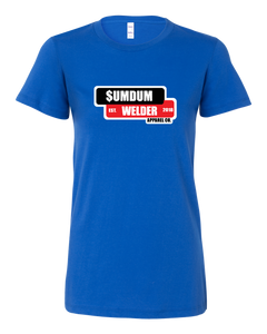 SumDumWelder Apparel - Ladies Tee