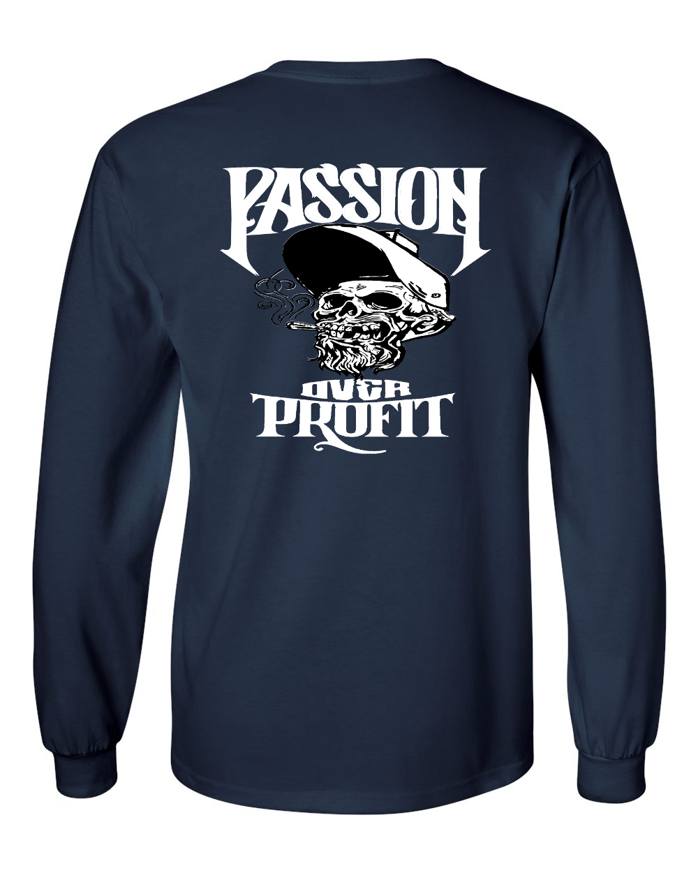 OG SDW - Passion Over Profit - White Print